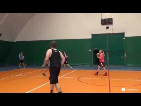 PlayBasket Видеообзор 13 09 2018 Метро Электрозаводская Любительский баскетбол в Москве