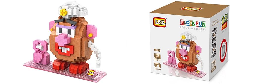 """Конструктор LOZ Diamond Block iBlock Fun """"Миссис Картофельная голова"""" 9506"""