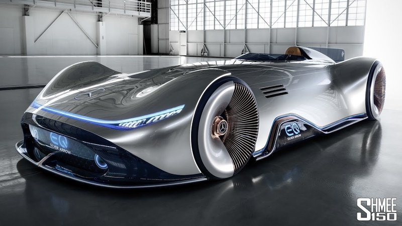The Mercedes Vision EQ SIlver Arrow Has Arrived from the Future!   FIRST LOOK