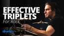 Brian Tichy - Effective Triplets For Rock Drumming