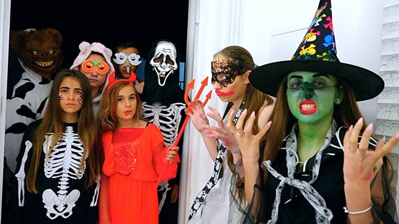 ХЭЛЛОУИН на Каникулах! ВЕЧЕРИНКА HALLOWEEN Party