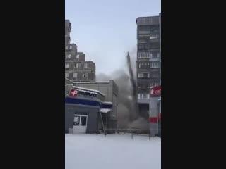 В Магнитогорске демонтировали стену между подъездами, где произошел взрыв