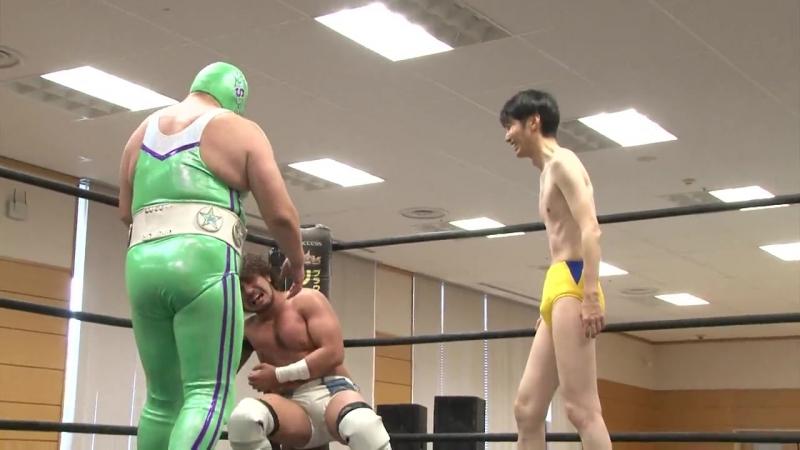 Norikazu Fujioka, Super Sasadango Machine vs. Yumehito Imanari (DDT - Road to Ryogoku 2018 ~ Dramatic Dream Taiwan Ramen)