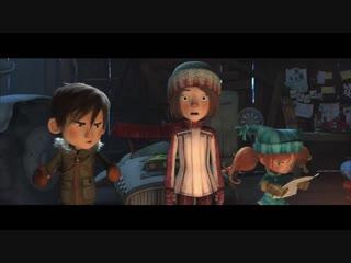 Снежные гонки __ дублированный трейлер __ в кино с 10 января