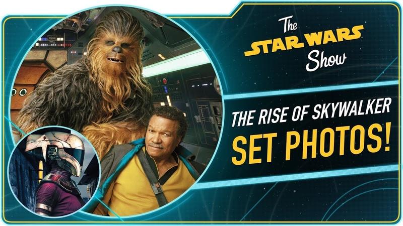 Star Wars Show : Серия фото со съёмок и другие новинки этой недели из мира Звёздных войн!