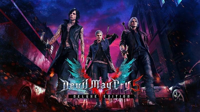 Devil May Cry 5 Deluxe Edition OST   Battle Music Bonus Tracks   デビル メイ クライ 5