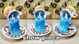 How to make amazing cup waterfall fountain show piece very easy