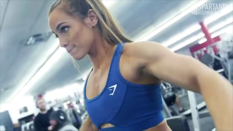 Lauren Findley workout Spartan Bodybuilding