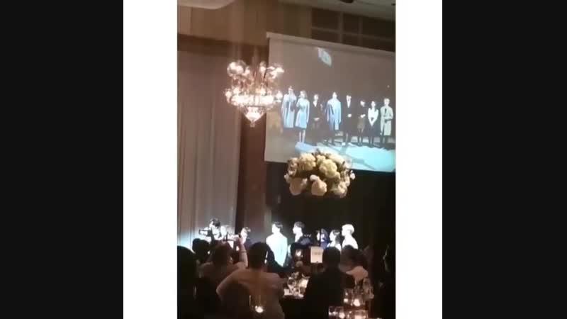 180212 Ёнджэ, JB, Вонпиль, ЁнKей, Джимин, Аён, Джихё, Наён - Marry You на свадьбе стаффа JYPE
