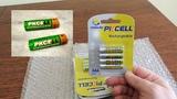 Очень хорошие аккумуляторы PKCELL из Китая! Ni-MH акумулятори PKCELL AA и AAA