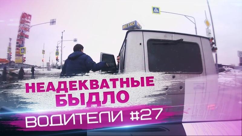 Неадеватные водители или разборки на дорогах 27