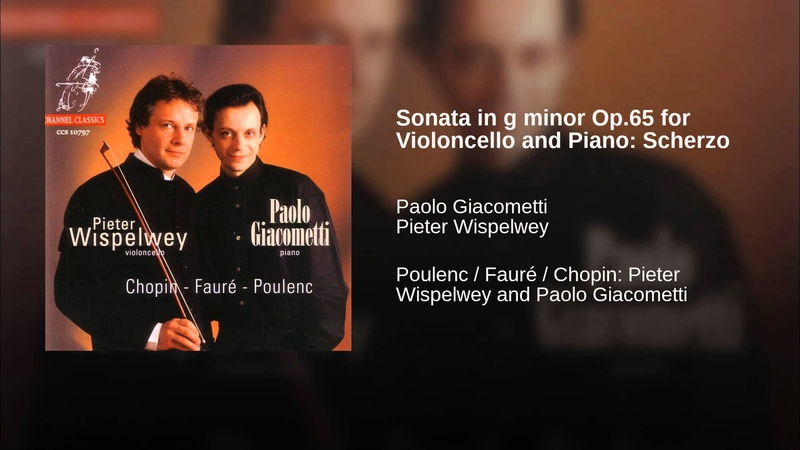 Sonata in g minor Op.65 for Violoncello and Piano: Scherzo