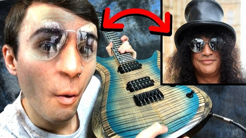 Face Swapping With Famous Guitarists!