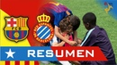 Resumen de FC Barcelona vs RCD Espanyol LaLiga Cataluña 2019