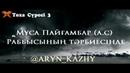 Тоха Сүресі 3 Мұса (a.c) Раббысының тәрбиесінде /Ерлан Ақатаев ᴴᴰ