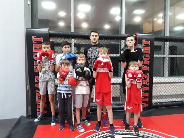 детский спорт, детский бокс, детский кикбоксинг, офп для детей, витязь файт