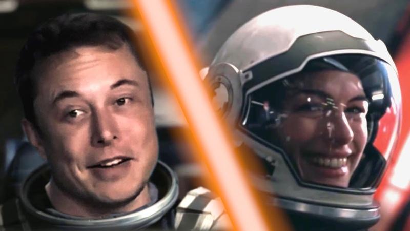 Elon Musk in Interstellar - parody mashup