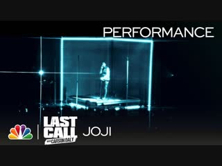 """Joji: """"slow dancing in the dark"""" - last call with carson daly (musical performance)"""