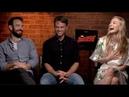 DAREDEVIL Season 3 interviews - Charlie Cox, Woll, D'Onofrio, Bethel, Ali, Whalley, Henson