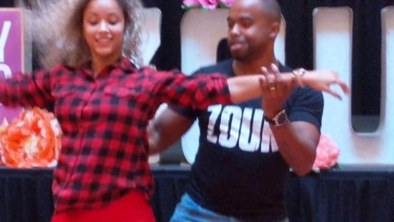 SSZF2018: Fernanda Carlos in Saturday afternoon workshops demo ~ Zouk Soul