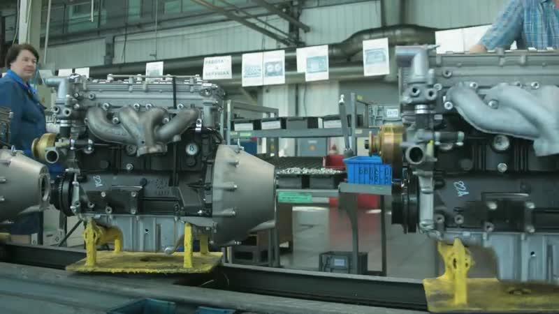 Как рождаются двигатели ЗМЗ
