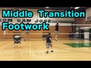 Middle Transition Footwork - Volleyball Tutorial
