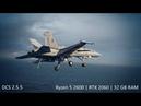 DCS World 2.5.5 Ryzen 5 2600 - GF RTX 2060 - 32 GB RAM Caucasus F/A-18C BFM MiG-29