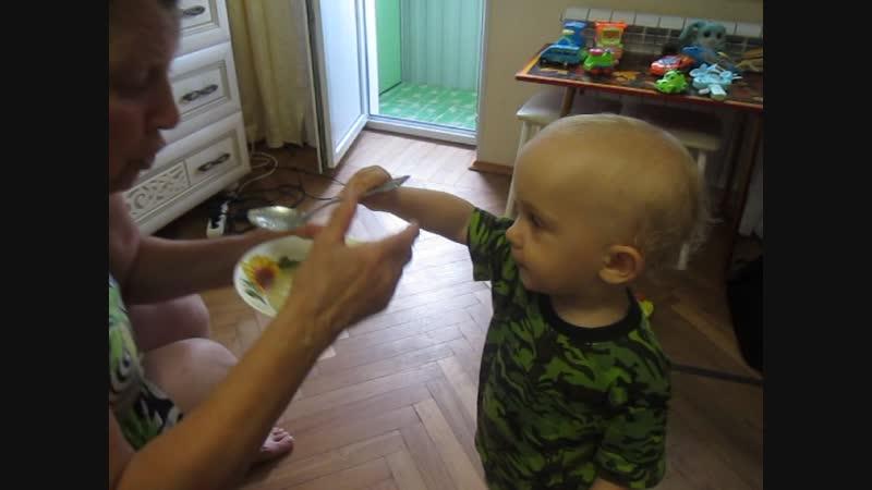 домашняя лапша у бабушки очень вкусная