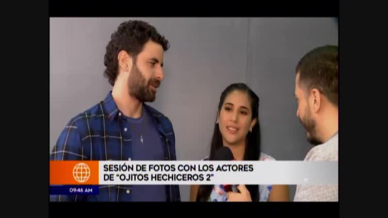 Actores de Ojitos Hechiceros w emocionados con la nueva historia de la telenovela