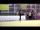 Кристина Пограничная Обруч Чемпионат ФСТ Украина 2018