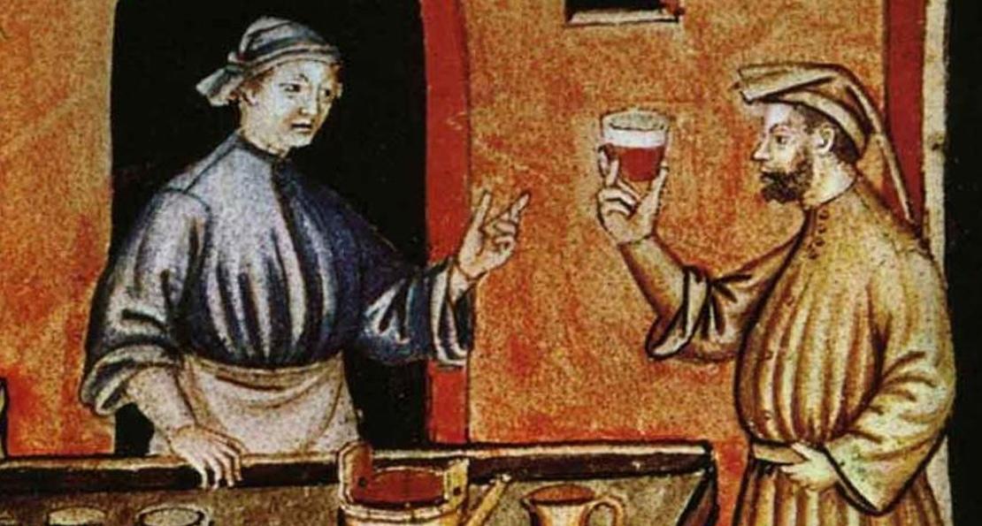 Пиво в средние века
