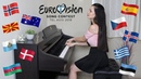 TOP 20 songs of EUROVISION 2019 On Piano! (Part 2)