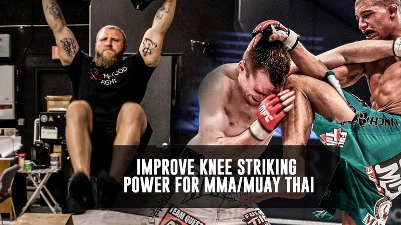 Use These Exercises To Improve Knee Striking Power For MMA/Muay Thai