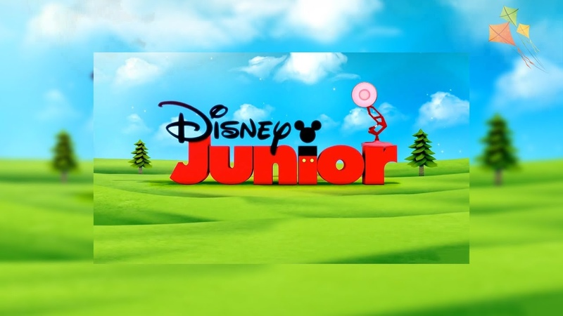 1357-Disney Junior with Holiday Spoof Pixar Lamps Luxo Jr Logo