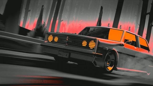 GAnsta car
