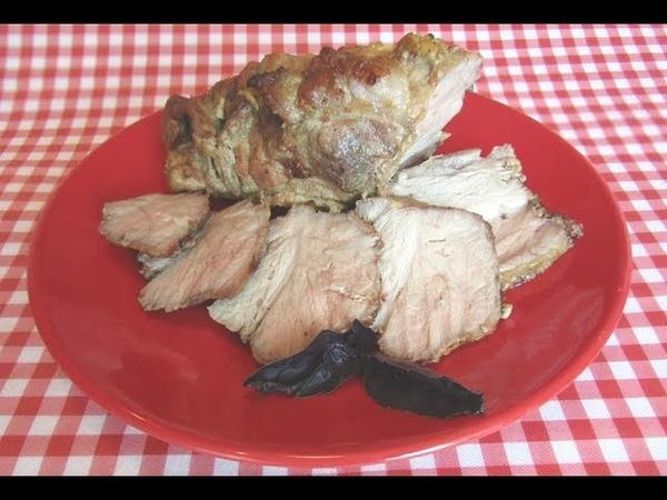 Свинина в горчице, запечённая в духовке