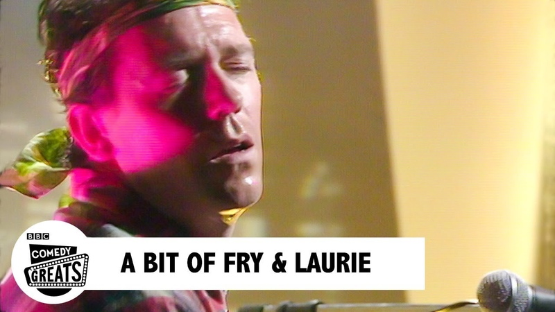 Hugh Laurie's Song for America   BBC Comedy Greats
