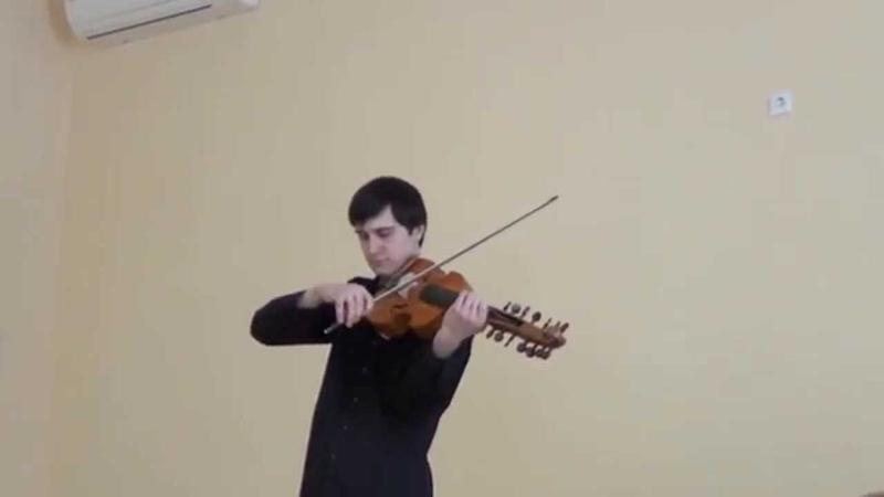 Л.Патеюк исполняет. Эпилог- фантазия для виоль дамур. Д.Кривицкий.