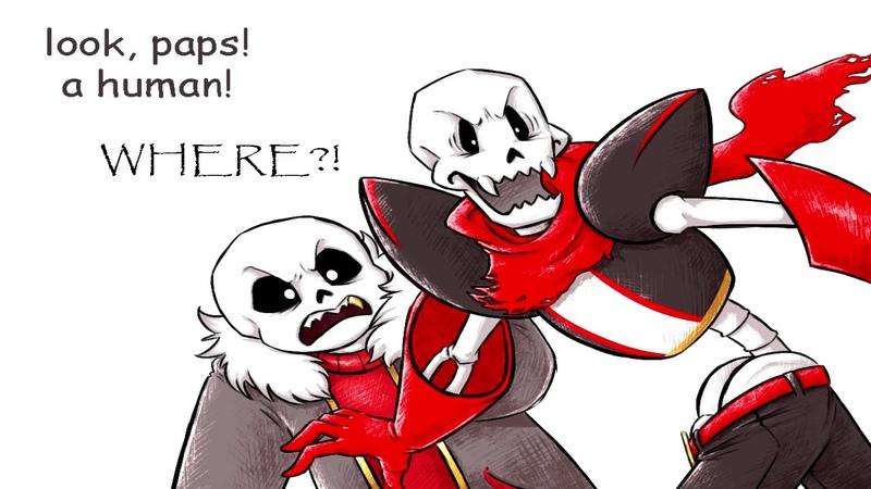 Когда каламбуры уже не те (Дубляж комикса UnderFell)   [UNDERFELL Comic RUS DUB When puns fail]