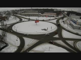 25 февраля 2019 г. Кольцо. ДТП.