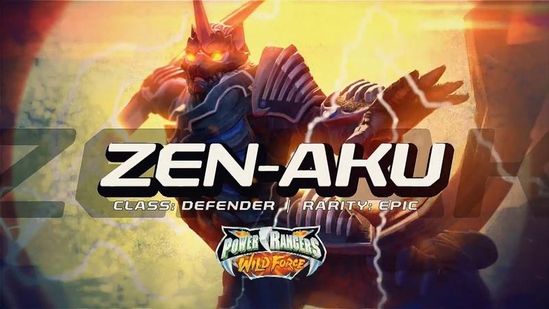 Power Rangers Legacy Wars: Zen-Aku Moveset | Power Rangers Wild Force | Superheroes Game
