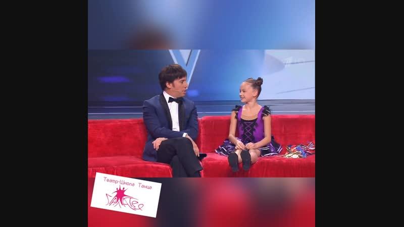 Ксения Лебедь на программе Лучше всех с Максимом Галкиным