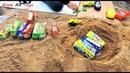 Toy Buses Kid Play Into Sand Kids Toys Eram AR Toys EP12
