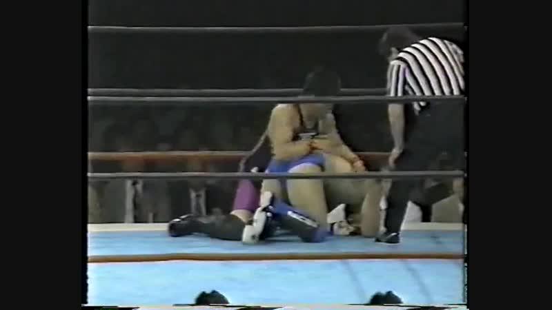 1992 08 21 Masayuki Naruse vs Koichiro Kimura