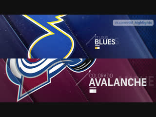 St. Louis Blues vs Colorado Avalanche Nov 30, 2018 HIGHLIGHTS HD