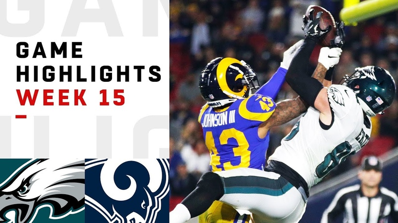 Eagles vs. Rams Week 15 Highlights | NFL 2018