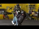 Александр Андреев Стант на Harley Davidson Sportster 1200 XR