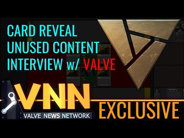 Exclusive Artifact Interview, Unused Content Card Reveal