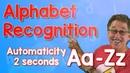 Alphabet Automaticity Upper and Lower Case 2 Seconds Jack Hartmann