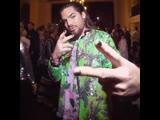 Adam Lambert attends the Libertine Fall 2019 Runway Show